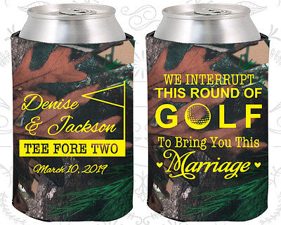 Wedding Favor Koozies Cheap Beer Can Koozie Ideas (315) Golf Wedding Favors - Golf Favors Ideas