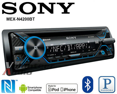 $108.00 - Sony Car Stereo Radio Bluetooth CD Player Iphone Pandora Android Songpal AUX USB