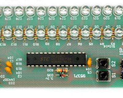 Dual Channel MCU Einstellbar Display Muster LED VU Meter Level Indicator 16 LED Display-muster