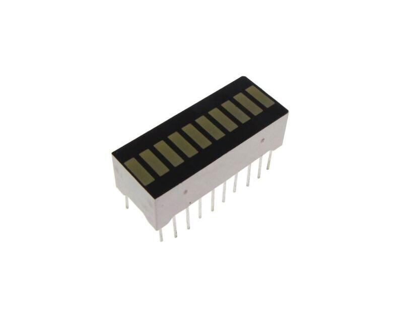10-Segment LED BAR Graph Indicator DIP - White