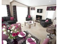 LODGE FOR SALE IN NORTH WALES - LUXURY ON 5* PARK IN SNOWDONIA FOOTHILLS - PARK OPEN 12 MONTHS