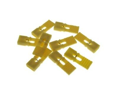 2p 2-pin 2.54mm Pitch Jumper W Handle For Straight Header - Yellow- Pack Of 100