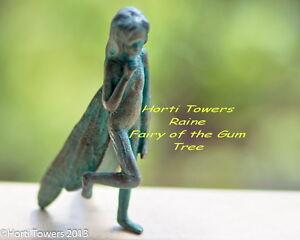 The Iron Fairies RAINE (Tinned), Fairy of The Gum Tree + 2x FREE Finger Puppets!