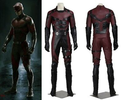 New Daredevil Cosplay Costume Matthew Michael Murdock Custom Made