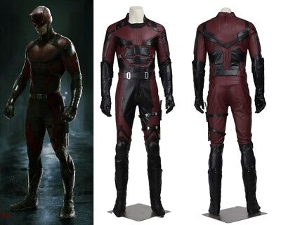 New Daredevil Cosplay Costume Matthew Michael Murdock Custom Made for sale  China