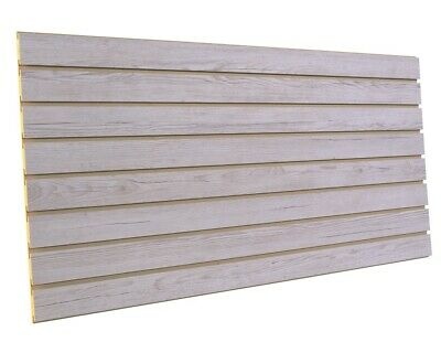 Weathered Barnwood Slatwall Display Panels 24h X 48l 2 Pack Cldv