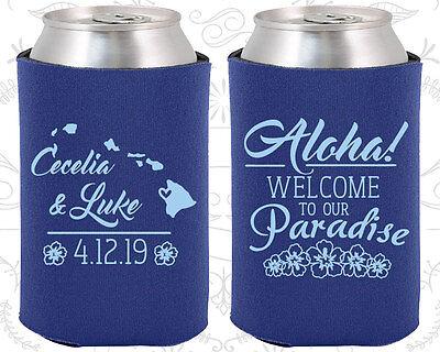 Wedding Favor Koozies Cheap Beer Can Koozie Ideas (465) Aloha Wedding Favors