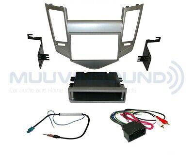 Radio Stereo Installation Dash Kit Combo SD/DD + Wire Harness + Antenna CH35