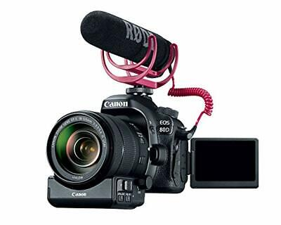 Open Box Canon Video Creator Kit [EOS 80D] with EF-S 18-135mm Lens