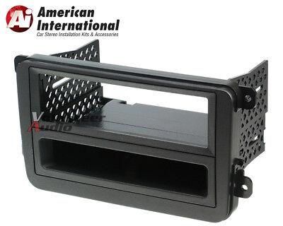VW Double Single Din Car Stereo Radio Installation Dash Mount Trim Panel Kit