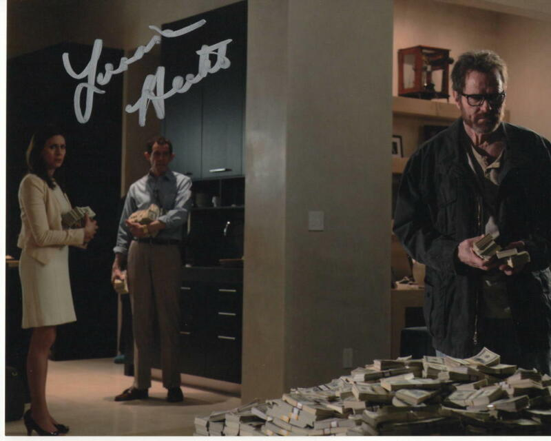 JESSICA HECHT SIGNED AUTOGRAPH 8X10 PHOTO - BREAKING BAD, BRIAN CRANSTON