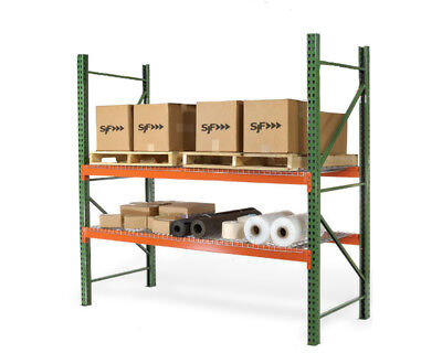 Pallet Racks - Teardrop Beams - 120l X 6h 6678 Lb. Capacity