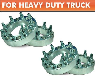 """4 Pcs Wheel Adapters 8x180 to 8x180 ¦ 2011 Chevy Single Wheel Pickup Spacers 2"""""""