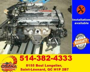 96-00 Acura Integra 1.8l Dohc Engine LS GS JDM B18B Motor Automatic Transmission
