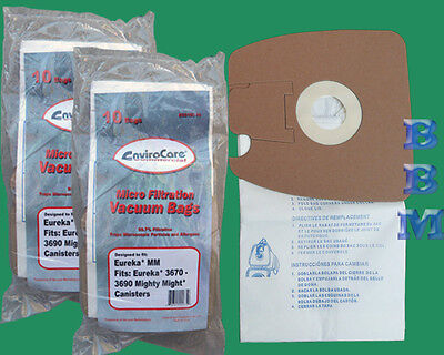 20 Commercial Vacuum Bags Eureka Sanitaire Style Mm Might...