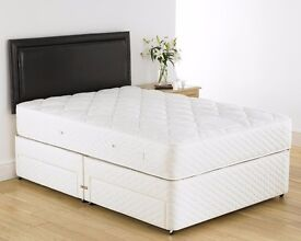 LIMITED TIME OFFER ==DOUBLE DIVAN BED + 10 INCH THICK ORTHOPEDIC MATTRESS & FREE DELIVERY