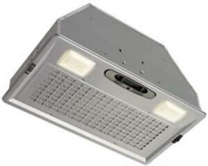 New  Broan Power Pack Range Hood 390 CFM-Silver Grille Condition: New