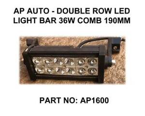 AP AUTO - Double Row LED Light Bar 36W Comb 190MM Fyshwick South Canberra Preview