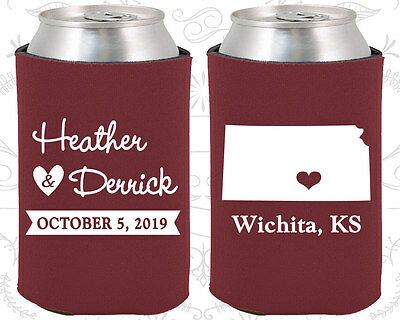 Wedding Favor Koozies Cheap Beer Can Koozie Ideas (115) Kansas Wedding Favors