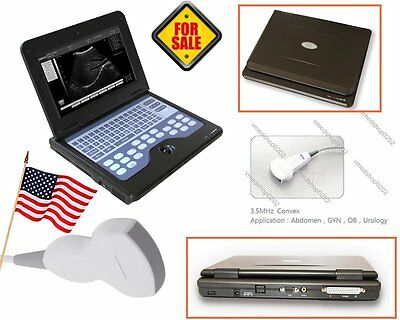 New Contec Portable Laptop Machine Human System Ultrasound Scanner Convex Probe