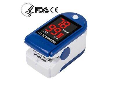 Contec Finger Digital Pulse Oximeter Blood Oxygen Saturation Heart Rate Spo2