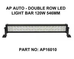 AP AUTO - Double Row LED Light Bar 120W 546MM Fyshwick South Canberra Preview