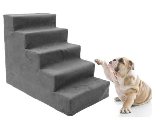 5 steps dog stairs to get on