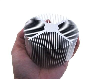 Aluminum Cylindrical Heat Sink For 1-30 Watt Power Led 9075mm