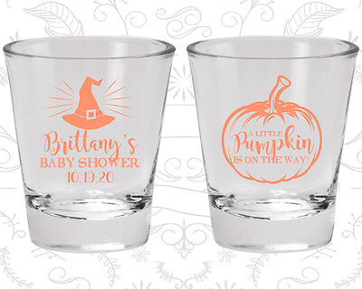 Halloween Baby Shower Favors (Baby Shower Shot Glasses Glass Favors (90196) Halloween,)