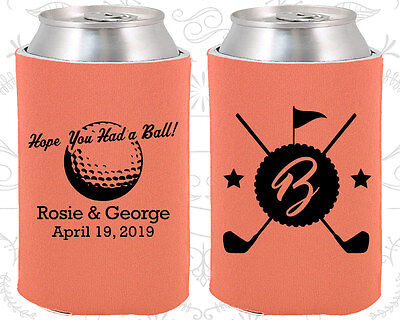 Wedding Favor Koozies Cheap Beer Can Koozie Ideas (325) Golf Wedding Favors - Golf Favors Ideas