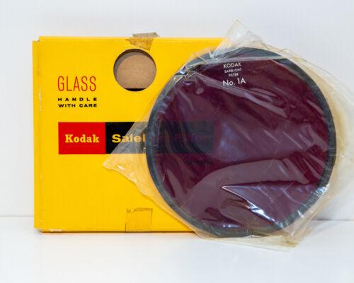Kodak 5.5 inch No. 1A safelight filter - With Box