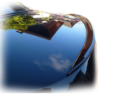 MERCEDES S W220 schwarz Lackiert heckspoilerlippe spoiler SLIM lippe becquet new