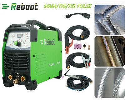 Tig Welder Ac Dc 110v-240v Hf Pfc 200a Aluminum Welder Tig Arc Welding Machine
