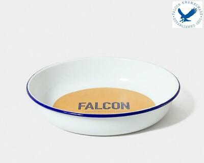 Falcon Enamelware Large Salad Serving Bowl Oven Safe in Various Finish Falcon Enamelware