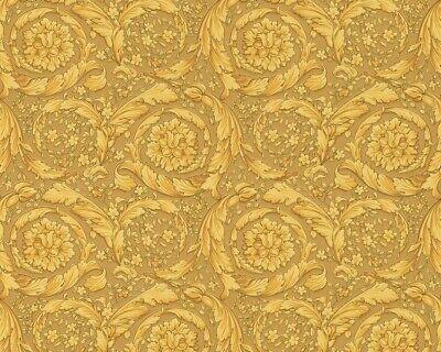 Versace Home Wallpaper Design baroque ornament gold 93583-3 (4,07£/1qm)