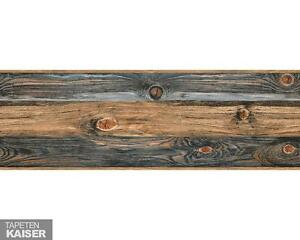 ✔AS Creation - Only Borders 7 0-Bordüre  selbstklebend906014 Holz Beige Braun Gr