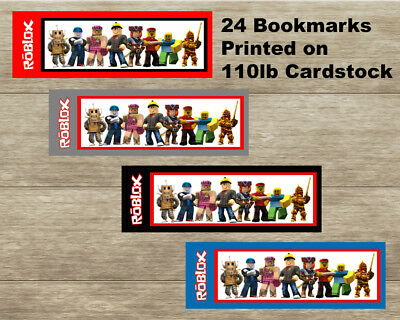 Lot of 24 Roblox Reading Bookmarks
