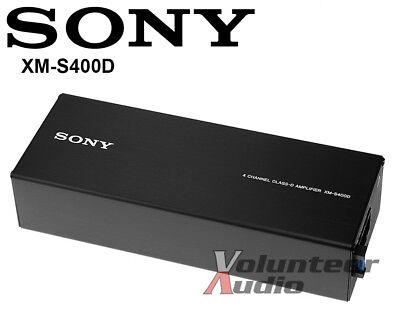 Sony XMS400D 4 Kanallı Kompakt MOSFET D Sınıfı Stereo Amplifikatör 400w 45x4 RMS Amp