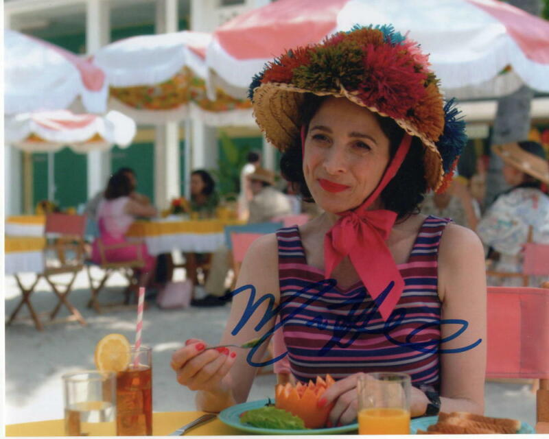 MARIN HINKLE SIGNED AUTOGRAPHED 8X10 PHOTO - ROSE - THE MARVELOUS MRS. MAISEL B