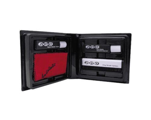 Zomo VSS-01 Vinyle Service Set - Kit Nettoyage Disque Aiguille Brosse Fibre