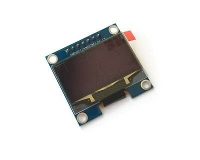 Hq 1.3 12864 Oled Graphic Display Module Spi Lcd - Color Blue