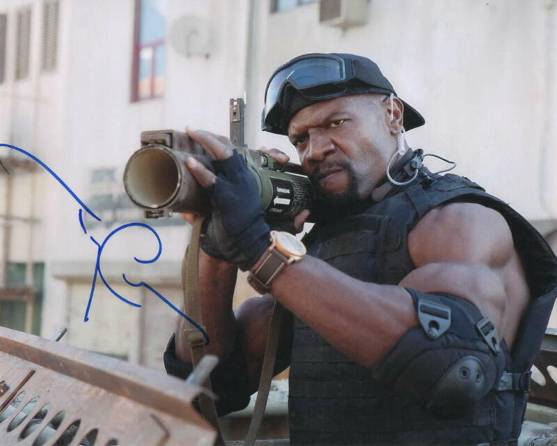 TERRY CREWS SIGNED AUTOGRAPH 8X10 PHOTO - BROOKLYN NINE-NINE, THE EXPENDABLES