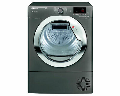 Hoover Aquavision DXC10DCER 10KG Condenser Graphite Tumble Dryer   *Brand New*