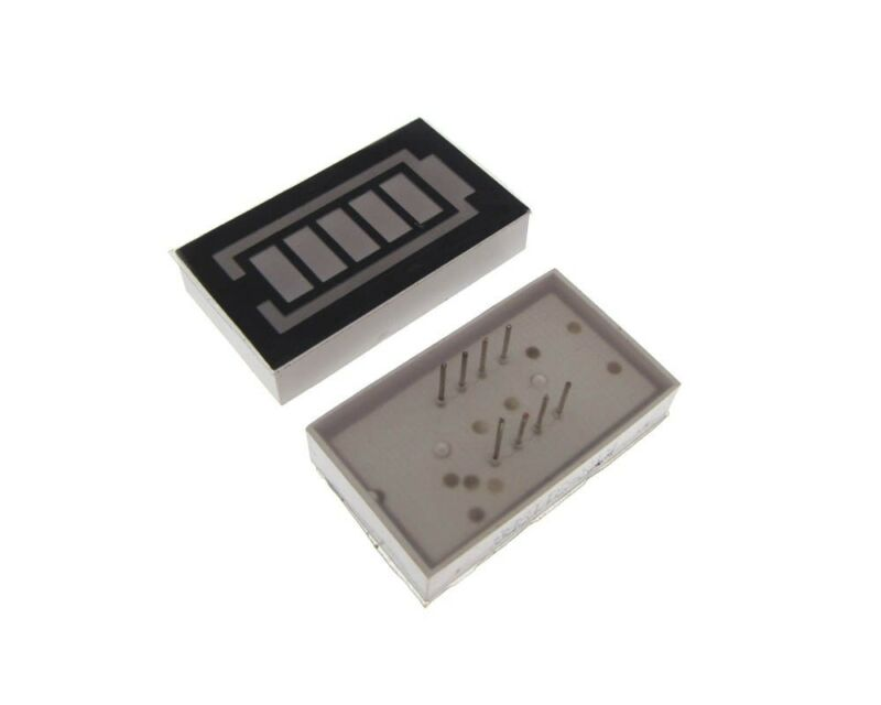 5-Segment LED Battery Capacity BAR Indicator DIP - Green