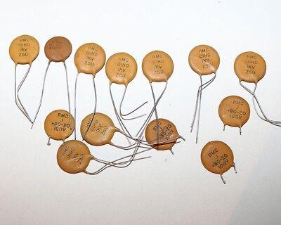 Disc Resistor Rmc O1hd 1kv Z5u - Lot Of 9 - 100v Lot Of 4