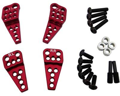 Axial SCX10.2 SCX 2 Optional H Lower Shock Mount Lift Kit by Hot Racing SCXT28M0