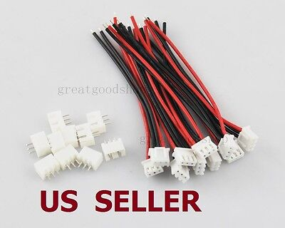 2//3//4//5//6//7//8//9//10S 1P Balance Charger Cable 22 AWG Silicon Wire JST XH Plu pe