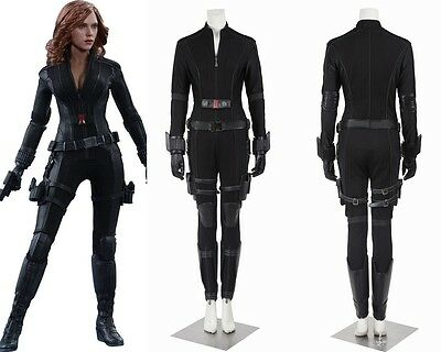 Captain America Civil War Natasha Black Widow Cosplay Costume Custom Made