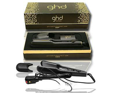 GHD Classic Gold Professional Ceramic Styler Hair Straightener Flat Iron 2 (Ghd Gold Professional Styler Iron 2 Inches)