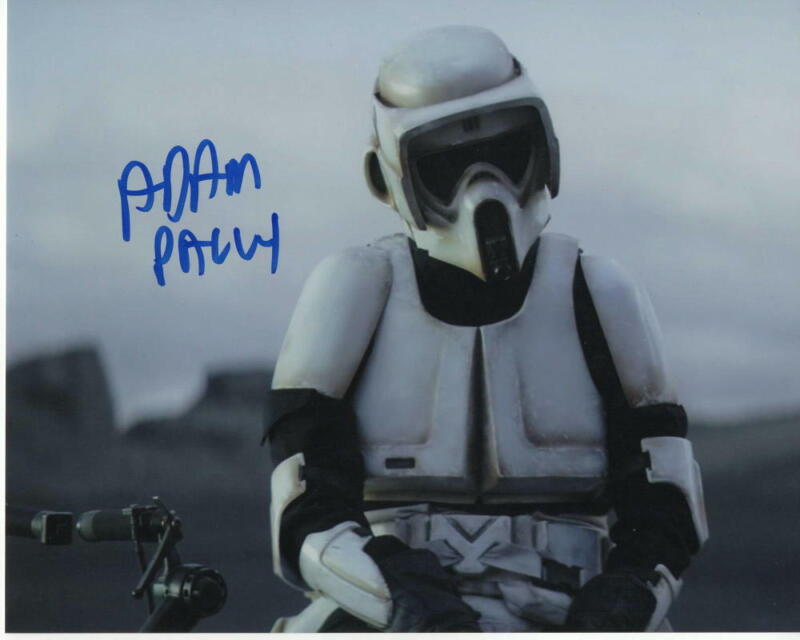 ADAM PALLY SIGNED AUTOGRAPH 8X10 PHOTO -THE MANDALORIAN BIKE SCOUT, PEDRO PASCAL